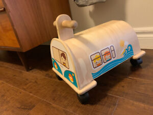 Plan Toys Wooden Ride on Car