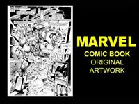 ARTIST WANTED swap your skills for MARVEL Comic Page ORIGINAL ART