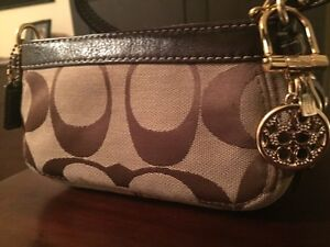 Coach Logo Wristlet (Authentic)