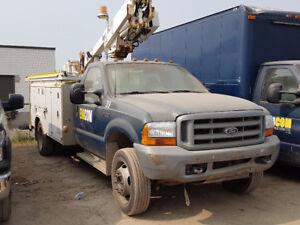 1999 Ford Bucket Truck