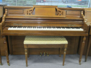 Four pianos for sale $1500 each incl warranty, del & tuning