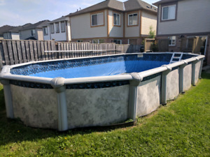 30' x 15' Above Ground Pool for Sale $500