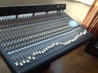 Mackie 32:8 32 track 8 bus mixing desk with meter bridge and flight case!