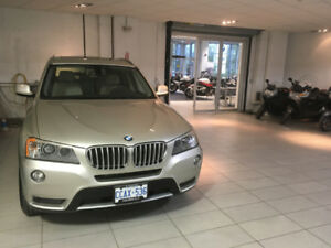 2015  BMWX3  FOR SALE