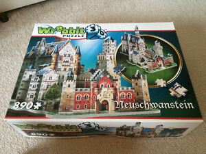 Wrebbit 3D Puzzle Neuschwanstein Castle London Ontario image 1