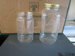 Canning jars, some collectable