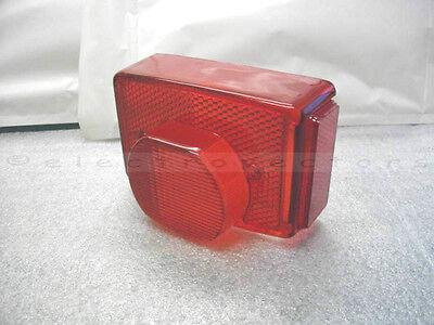 REPLICA LENS FOR LUCAS 917 REAR LAMP TRIUMPH T140 TR7 750 1973 TO 1983