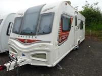 2013 4 berth end bathroom Bailey Unicorn Valencia caravan for sale