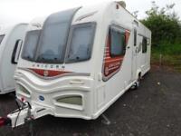 Bailey Unicorn Valencia 2013 4 Berth End Washroom Caravan For Sale