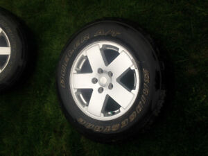 5 18 inch Jeep Tires
