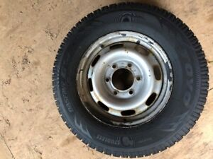 2003-2012 GMC Canyon or Chevy Colorado Winter Tires