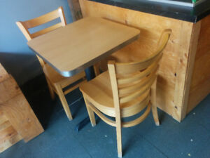 $60 Restaurant Table & Chairs Set - Commercial