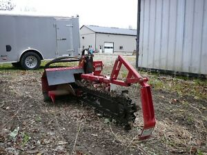 Ventrac trencher and trunk pump