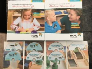 Montessori 3-6 Classroom Guide + Manual + Full DVD Set