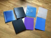 7 binders -free!
