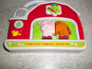 Leapfrog Fridge Farm Animal Magnet PickUp In Marmora Belleville Belleville Area image 4