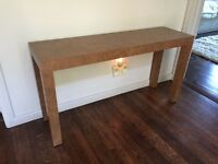 Parsons Sofa/Console Table
