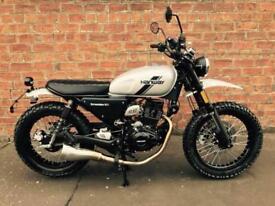 NEW Hanway Scrambler 125 EFI learner legal, own this bike for only £9.66 a week