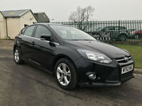 63 PLATE Ford Focus 1.6 TDCi 115 BHP Zetec PANTHER BLACK 59,000 FSH 1OWNER