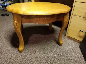Wood End/Coffee Table