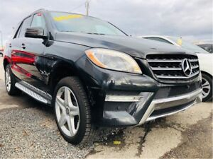 Mercedes-Benz ML350 ML350 BlueTEC 4MATIC DIESEL 2015