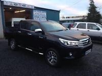 Toyota hi Lux invincible 2.4 d4d.d/cab 2016 66 Reg