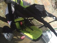 Phil and teds double pushchair, lovely!