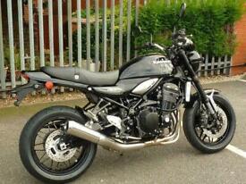 Kawasaki Z900RS Metallic Diablo Black 2020 Model