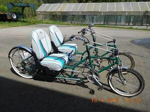 COSYCYCLE -2 SEAT -SIDE by SIDE - QUAD BIKE