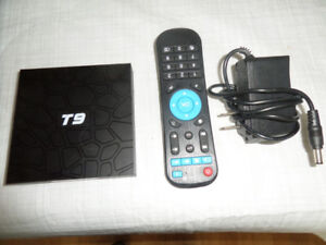 ANDROID BOX  T9   8.1  FULLY PROGRAMMED   4GB-32GB