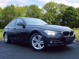 BMW 3 SERIES 2.0 320i Sport 4dr (start/stop) (black) 2016