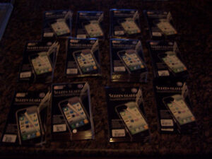 170 Brand Name Screen Protectors For Cell Phones (brand new)