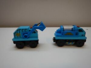 STREET SWEEPER & GARBAGE TRUCK - THOMAS AND FRIENDS