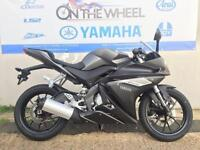 2016 YAMAHA YZF-R125 ABS MATT GREY, BRAND NEW! ON THE ROAD