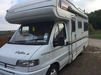 1997 Peugeot compass motor home