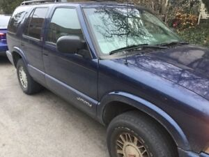 2002 GMC Jimmy.Great Mechanical shape. As is