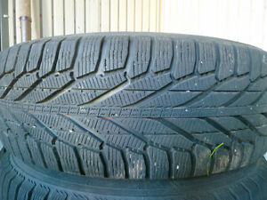 Four 245/65/17 Hakkapeliita (Nokian) R2 SUV Winter tires & rims Peterborough Peterborough Area image 4