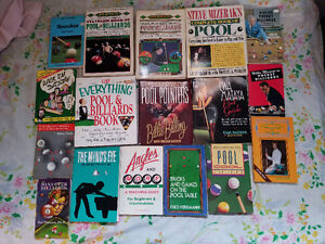 BILLIARDS-POOL-SNOOKER BOOKS