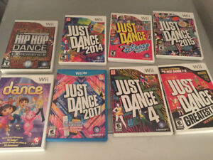 Wii Just Dance CDs