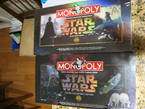 STAR WARS MONOPOLY - LIMITED & CLASSIC EDITIONS -SEALED BOXES Kitchener / Waterloo Kitchener Area image 1