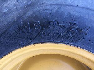 2 firestone industrial tires 16.9-24 London Ontario image 3