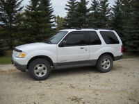 2002 Ford Explorer sport Coupe , 4x4, leather, sun roof
