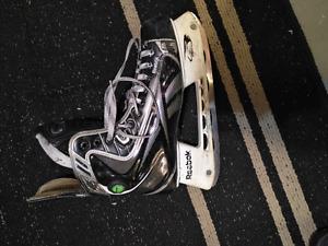 Reebok 18k player skates size 8.5