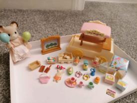 Sylvanian's Toy Wagon