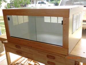 Looking for a custom or front opening Bearded Dragon enclosure