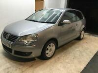 2006 VW Volkswagen Polo S 55 3 DOOR 1.2 PETROL FULL SERVICE LONG MOT