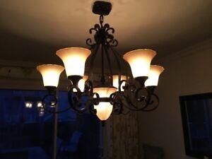 7 light Chandelier