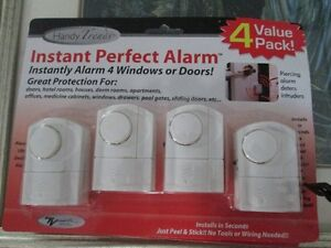 INSTANT PERFECT ALARM (2 SETS OF 4)