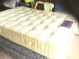 A Double Bed Mattress.