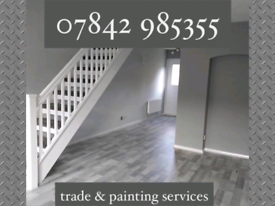 Quality Plastering painting & decorating services painter & decorator